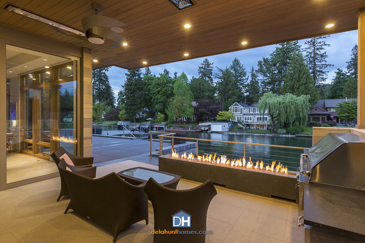 Delahunt Custom Homes - Lake Residence - Custom Home Builder - Lake Oswego