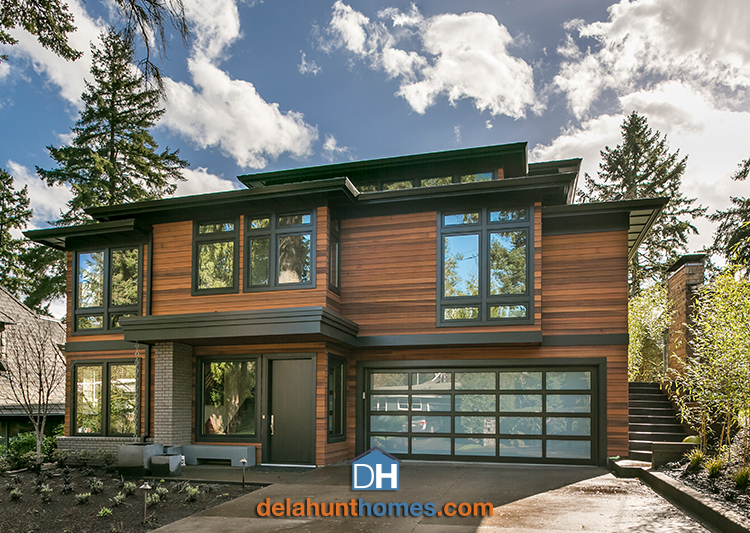 Cliff house custom home - Delahunt